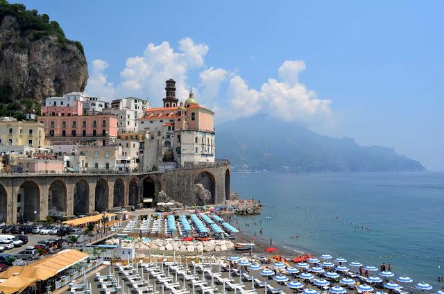 Obala Amalfi Ostrvo Kapri Sorento Napuljski Zaliv